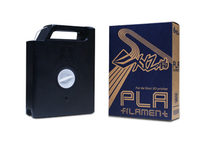 XYZprinting RFPLAXEU07B Polyacticsäure (PLA) Schwarz 600g 3D-Druckmaterial