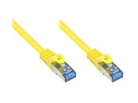 Alcasa S/FTP Cat6A 3m (Gelb)