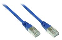 Alcasa 0.25m Cat5e SF/UTP 0.25m Cat5e SF/UTP (S-FTP) Blau Netzwerkkabel