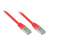 Alcasa 7.5m Cat5e 7.5m Cat5e SF/UTP (S-FTP) Rot Netzwerkkabel