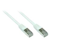 Alcasa 50m Cat5e 50m Cat5e SF/UTP (S-FTP) Weiß Netzwerkkabel