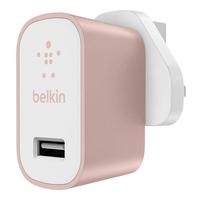 Belkin MIXIT Metallic Home Charger Innenraum Weiß (Pink, Weiß)