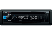 Kenwood Electronics KDC-100UB car media receiver (Schwarz)