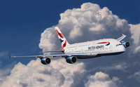 Revell Airbus A380 British Airways Assembly kit Fixed-wing aircraft (Mehrfarben)