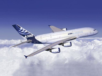 Revell Airbus A380 Demonstrator 1:288 Assembly kit Fixed-wing aircraft (Blau, Weiß)