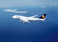 Revell Boeing 747-400 'Lufthansa' 1:288 Assembly kit Fixed-wing aircraft (Mehrfarbig)