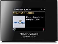 TechniSat DigitRadio 110 IR Internet Digital Schwarz Radio (Schwarz)