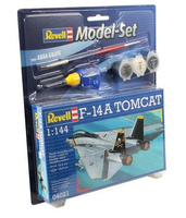 Revell F-14A Tomcat 1:144 Assembly kit Fixed-wing aircraft (Mehrfarbig)