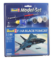 Revell F-14A Black Tomcat 1:144 Assembly kit Fixed-wing aircraft (Mehrfarbig)