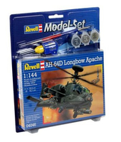 Revell AH-64D Longbow Apache 1:144 Assembly kit Rotorcraft (Mehrfarbig)
