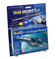 Revell F-14D Super Tomcat 1:144 Assembly kit Fixed-wing aircraft (Mehrfarbig)