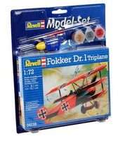 Revell Fokker DR.1 Triplane 1:72 Assembly kit Fixed-wing aircraft (Mehrfarben)