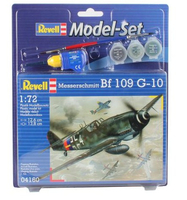 Revell Messerschmitt Bf-109 1:72 Assembly kit Fixed-wing aircraft (Mehrfarben)