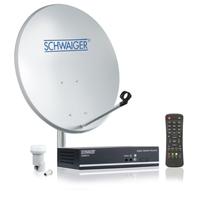 Schwaiger SAT1001E 0.95 - 2.15GHz Grau Satellitenantenne (Grau)