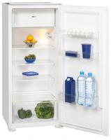 Exquisit EKS201-4A+ Eingebaut 186l A+ Weiß Kühlschrank mit Gefrierfach (Weiß)