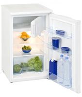 Exquisit KS124-3A+++ Freistehend 98l A+++ Weiß Kühlschrank mit Gefrierfach (Weiß)