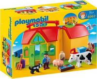 Playmobil 1.2.3 6962 Baufigur (Mehrfarbig)