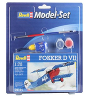 Revell Fokker D VII 1:72 Assembly kit Fixed-wing aircraft (Mehrfarbig)