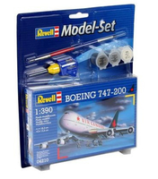 Revell Boeing 747-200 1:390 Assembly kit Fixed-wing aircraft (Mehrfarbig)