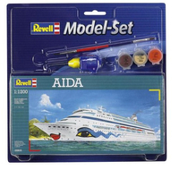Revell AIDA 1:1200 Passenger ship Assembly kit (Mehrfarbig)