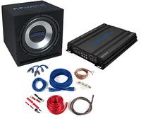Crunch CBP1000 Auto Audioverstärker (Schwarz)