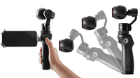 DJI Osmo 12.76MP Full HD 1/2.3Zoll CMOS WLAN 201g Actionsport-Kamera (Schwarz)