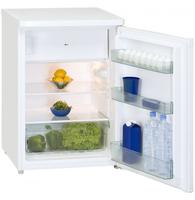 Exquisit KS18-4A++ Freistehend 128l A++ Weiß Kühlschrank mit Gefrierfach (Weiß)