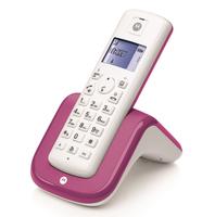Motorola T201 Dect (Pink, Weiß)