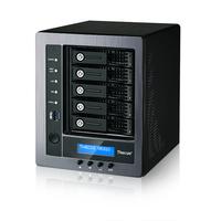 Thecus N5810 NAS Desktop Eingebauter Ethernet-Anschluss Schwarz NAS & Speicherserver (Schwarz)