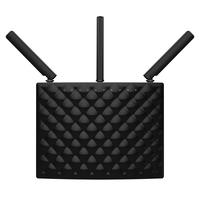 Tenda AC15 Dual-Band (2,4 GHz/5 GHz) Gigabit Ethernet Schwarz WLAN-Router (Schwarz)