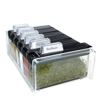EMSA SPICE BOX (Schwarz, Transparent)