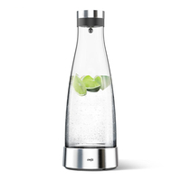 EMSA FLOW Bottle 1l Edelstahl (Edelstahl, Transparent)
