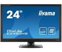 iiyama ProLite E2480HS-B2 23.6Zoll Full HD TN Schwarz LED display (Schwarz)