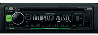 Kenwood KDC-100UG car media receiver (Schwarz)