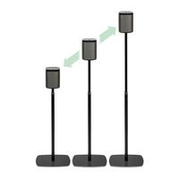 Flexson   FLXP1AS2021 Lautsprecher Halter (Schwarz)