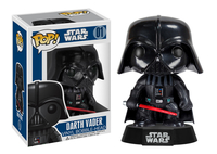 FUNKO Pop! Star Wars: Darth Vader Collectible figure Star Wars (Schwarz, Rot)