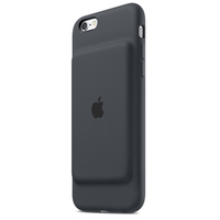 Apple   Smart Battery Case (Holzkohle, Grau)