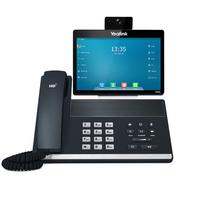 Yealink SIP VP-T49G Kabelgebundenes Mobilteil LCD WLAN Schwarz IP-Telefon (Schwarz)