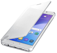 Samsung EF-ZA510CSEGWW Handy-Schutzhülle (Silber, Transparent)
