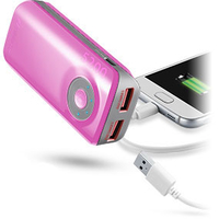 Cellular Line Freepower Dual 5200 (Pink)