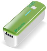 Cellular Line USB Pocket Charger 2600 (Grün, Weiß)