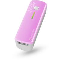 Cellular Line USB Pocket Charger 2600 (Pink, Weiß)