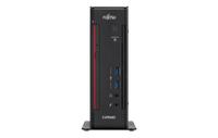 Fujitsu ESPRIMO Q956 i7-6700T 2l großer PC 2.8GHz Schwarz, Rot (Schwarz, Rot)