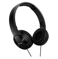 Pioneer SE-MJ503 Schwarz Ohraufliegend Kopfband Kopfhörer (Schwarz)