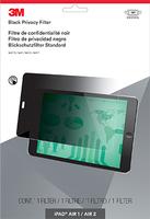 3M Blickschutzfilter für iPad 1/Air 2 - Querformat (Schwarz, Durchscheinend)