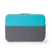 basexx D31136 15.6Zoll Notebook sleeve Blau, Grau Notebooktasche (Blau, Grau)