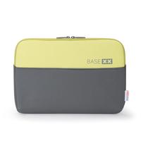 basexx D31138 13.3Zoll Notebook sleeve Grau, Limette Notebooktasche (Grau, Limette)