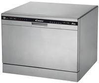 Candy CDCP 6/E-S Freistehend 6Stellen A+ Silber Spülmaschine (Silber)