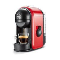 Lavazza MINÙ Espresso machine 0.5l 1Tassen Schwarz, Rot (Schwarz, Rot)