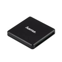 Hama 00124022 USB 3.0 (3.1 Gen 1) Type-A Schwarz Kartenleser (Schwarz)